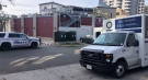 Ontario's Special Investigations unit is looking into a fatal police shooting in London, Ont. on Thursday, Oct. 28, 2021. (Jim Knight / CTV News)