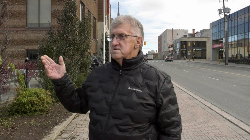 Timmins City Councillor Joe Campbell. Oct. 27/21 (Sergio Arangio/CTV Northern Ontario)