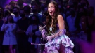 Olivia Rodrigo leads the nominations for the 2021 American Music Awards. (Mike Coppola/Getty Images via CNN)