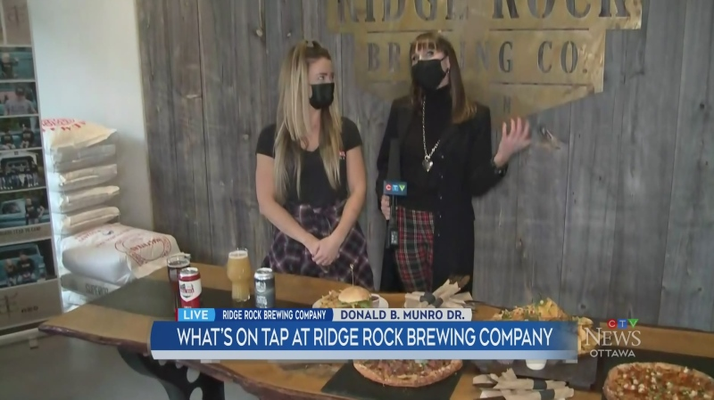 What's on tap at Ridge Rock Brewing Company
