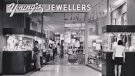 Young's Jewellers is seen inside Wellington Square Mall (now Citi Plaza) in downtown London, Ont.. (Source: Young Family)