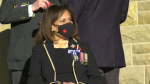 The Royal Canadian Legion began its 2021 poppy campaign on Oct. 28, giving the first poppy of the year to Alberta's Lieutenant Governor Salma Lakhani.