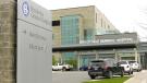 Brockville General Hospital in Brockville, Ont. on Thursday, Oct. 28. (Nate Vandermeer/CTV News Ottawa)