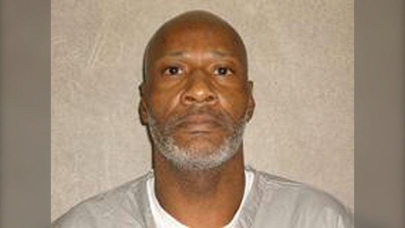 This undated photo provided by the Oklahoma Department of Corrections shows John Marion Grant. (Oklahoma Department of Corrections via AP)