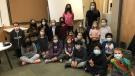 The Douglas Park Elementary School Green Team. (Taylor Rattray/CTV News)