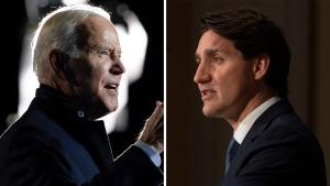 Trudeau, Biden