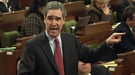 Liberal Leader Michael Ignatieff stands during question period in the House of Commons, Monday, Nov. 30, 2009.