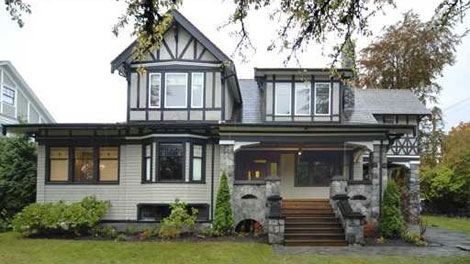 This 1912 heritage mansion in Vancouver's Shaughnessy neighbourhood was listed for sale at $2,380,000. (Handout)