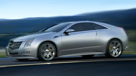 The Cadillac 2011 CTS coupe will go on sale next year.
