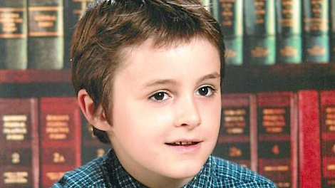 James Delorey, 7, is shown in this Cape Breton Regional Police handout photo. (HO / THE CANADIAN PRESS)