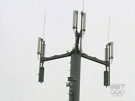 Rogers cell phone tower