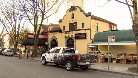 A public hearing is scheduled for Thursday to discuss a proposal to tear down Maxine's Hideaway and develop the site in a 20-storey rental and market housing tower. Dec. 9, 2009.