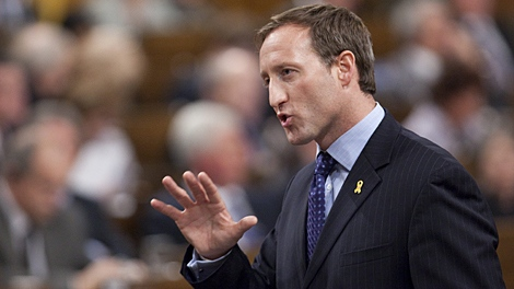 Defence Minister Peter MacKay answers a question during question period in the House of Commons on Parliament Hill in Ottawa, Ont., Thursday December 10, 2009. (THE CANADIAN PRESS/Sean Kilpatrick)