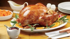 A cooked turkey is shown in this undated handout photo. (THE CANADIAN PRESS)