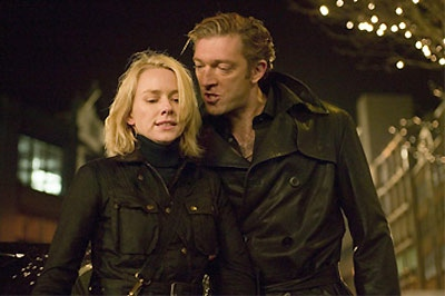 Naomi Watts and Vincent Cassel in Focus Features' 'Eastern Promises'