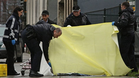 Van Hubbard was shot and killed by police in Vancouver, B.C., on Friday, March 20, 2009.