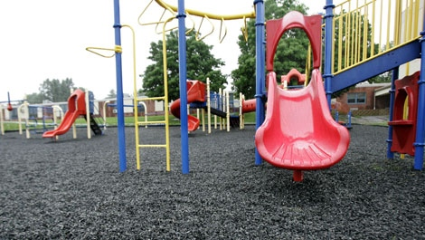 Sand Safer Than Wood Chips Around Playgrounds Study Ctv