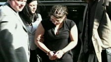 Terri-Lynn McClintic is taken into police custody on May 20, 2009.