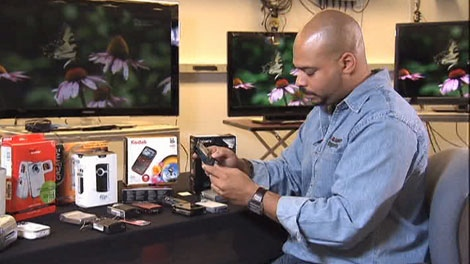 Consumer Reports checked out 14 different pocket camcorders, all priced $200 or under.