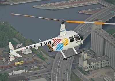 The TVA news chopper.