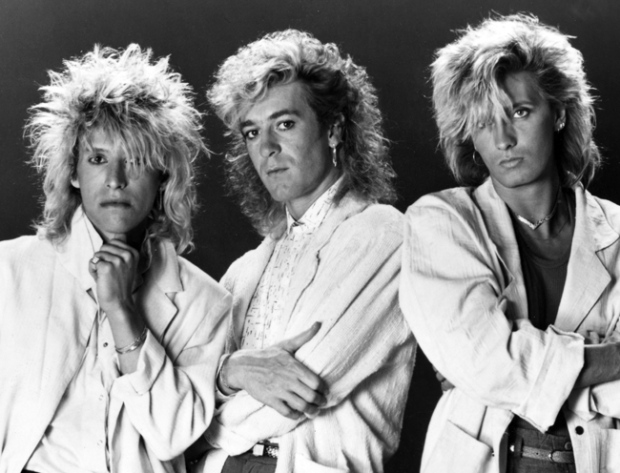Platinum Blonde band members, from left, Sergio Galli, Kenny MacLean and Mark Holmes are pictured in this undated handout photo.