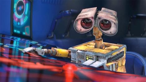 WALL-E in Disney's presentation of Pixar's 'WALL-E'