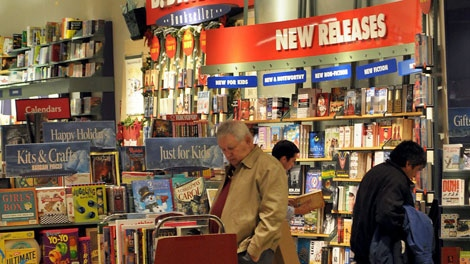 The B. Dalton Book Store at Mall del Norte in Laredo, Texas is seen Dec. 11, 2009. (AP / Ricardo Santos)