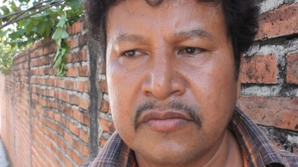 Activist Mariano Abarca Roblero is shown in this still image taken from video Aug., 2009 in Chicomuselo, Chiapas. (Dominique Jarry-Shore / THE CANADIAN PRESS)