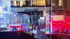 Four people were instantly killed when the scaffolding they were on plunged 13 storeys on Dec. 24, 2009.