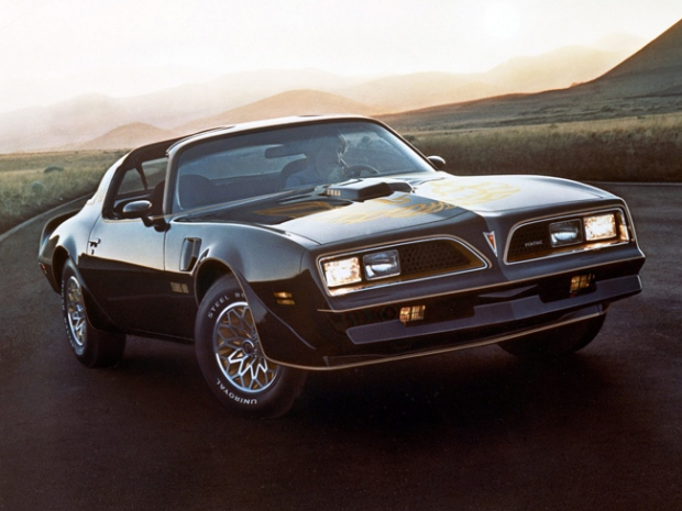 In this undated photo released by General Motors Corp., a 1976 Pontiac Firebird Trans Am is shown.