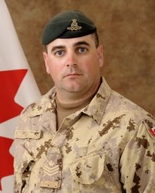 Sgt. Kirk Taylor, 28, of Yarmouth, N.S, in an undated photo (Courtesty the Department of National Defence)