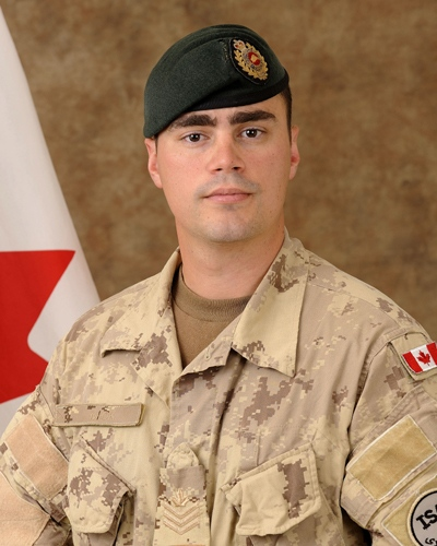 Sgt. George Miok, 28, of Edmonton in an undated photo (Courtesy Department of National Defence)