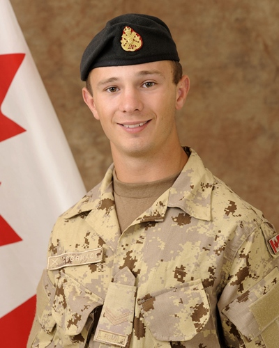 Cpl. Zachery McCormack, 21, of Edmonton in an undated photo (Courtesy Department of National Defence)