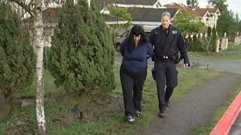 Charmaine Roy was arrested on Dec. 30 by Saanich police.