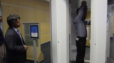 Full-body scanners are coming to airports across Canada, including YVR. Jan. 5, 2010.
