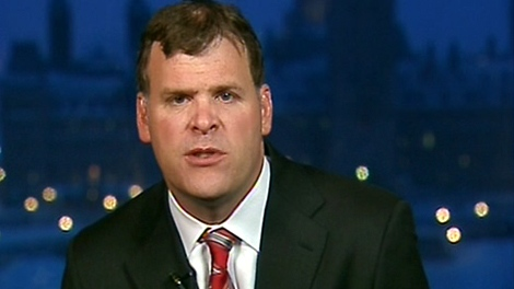 Transport Minister John Baird appears on Canada AM from CTV studios in Ottawa, Wednesday, Jan. 6, 2010.