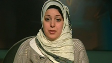 Ayat Manna appears on Canada AM from CTV studios in Halifax, Wednesday, Jan. 6, 2010.
