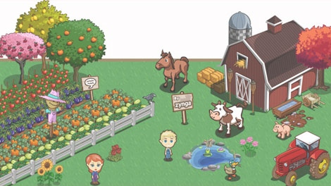 Farmville players earn the coins by selling crops or by accumulating cash