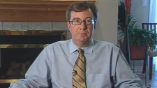 Jim Watson announces his plans to run for mayor, Tuesday, Jan. 12, 2010.