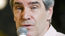 Liberal Leader Michael Ignatieff addresses students at the Hautes Etudes Commerciales (HEC) in Montreal, on Tuesday, Jan., 12, 2010. (Graham Hughes / THE CANADIAN PRESS)