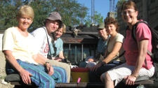 Yvonne Martin, far left, is seen in a photo taken during a medical mission to Haiti in 2009.