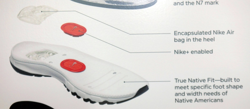 A cross-section of the sole of the new Nike Air Native N7 shoe is 048add01b2d4