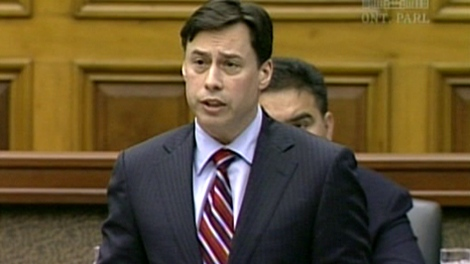 Toronto MPP Brad Duguid is seen during question period at Queen's Park in this undated photo.