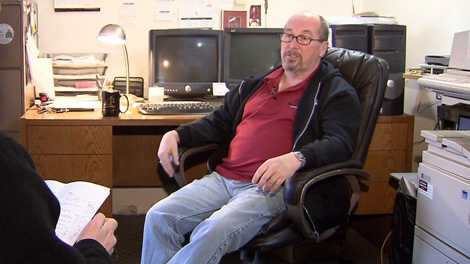 Jim O'Rourke, who alerted CTV News to an apparent kickback scheme involving pharmacies and drug recovery houses, is the owner of Vision Question Recovery House in Surrey, B.C. (CTV)