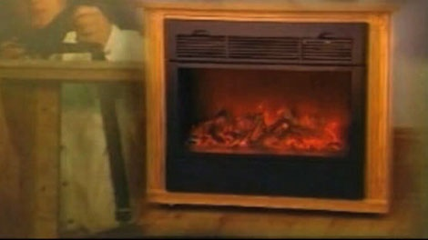 You may have seen an infomercial for the Amish Custom-built Heat Surge Fireplace, the real wooden mantle made by Amish craftsmen.