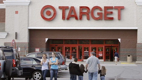 In this photo made Sunday, Oct. 5, 2009, shoppers at the Target store location in Salem, N.H. (AP Photo/Charles Krupa)