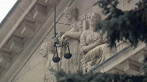 The gang report was presented at a sentencing hearing at the law courts.