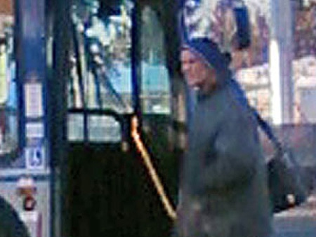 Edmonton police have obtained this image of a suspect in one of the incidents from one of the victim's cellphone camera.