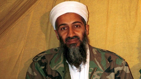 Al Qaeda chief Osama bin Laden is seen in this undated file photo. Bin Laden issued a new audio message claiming responsibility for the Christmas day bombing attempt in Detroit and vowed further attacks. (AP / File)