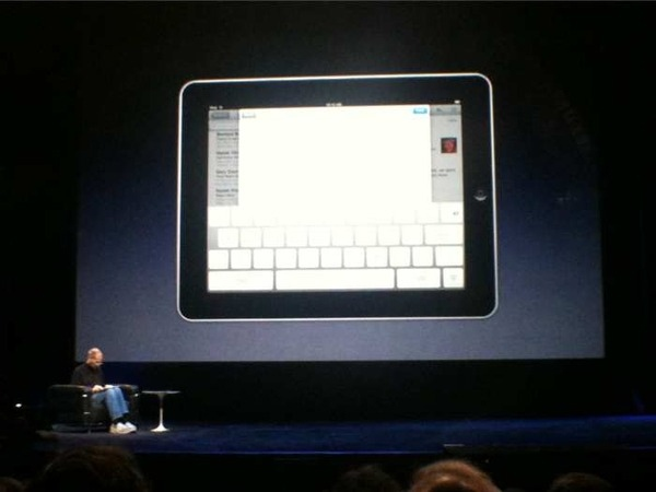 The keyboard on the iPad. (Kris Abel for CTV.ca)